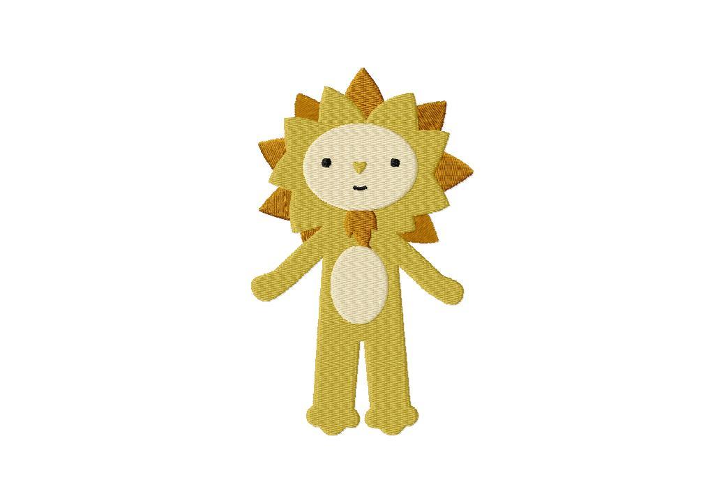 cowardly lion wizard of oz machine stitched embroidery design  u2013 blasto stitch