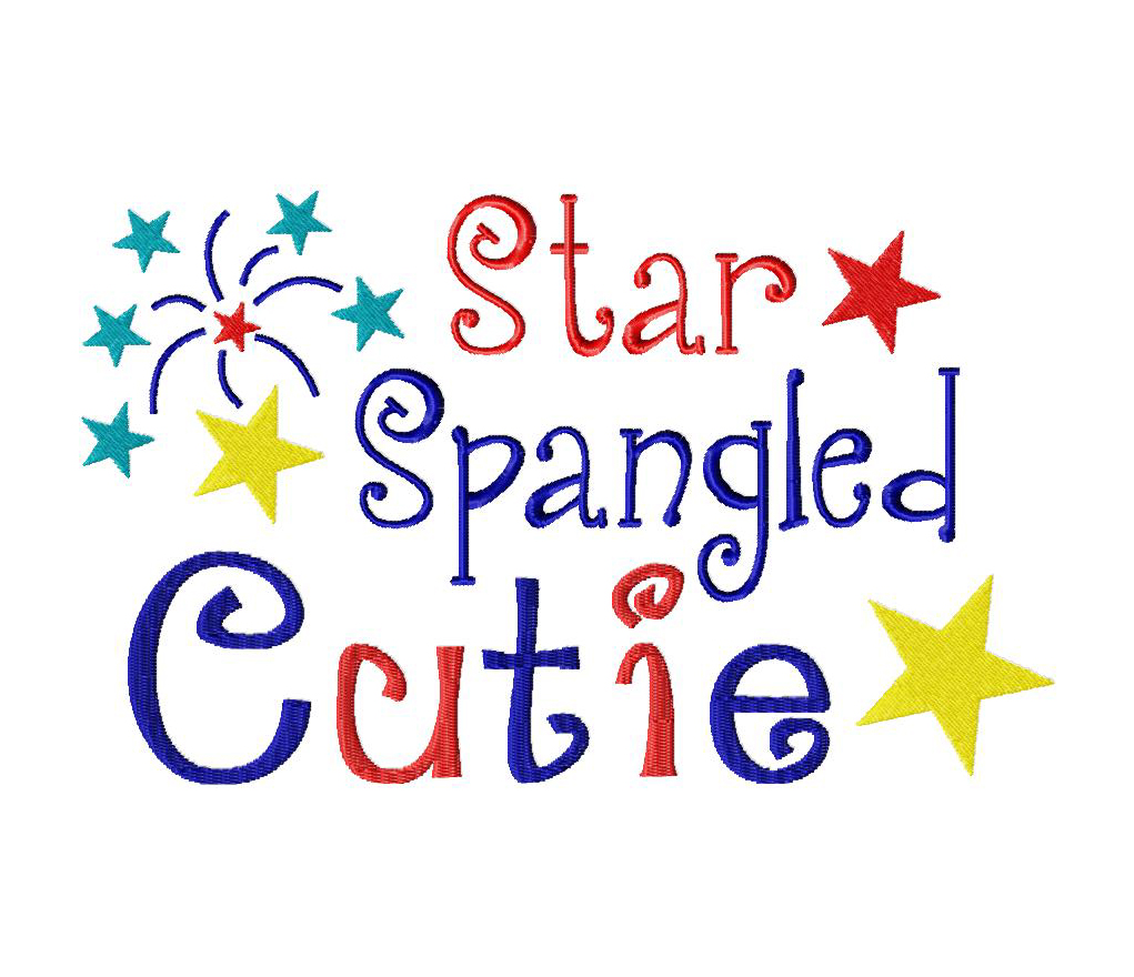 a4c2ea987a8 Star Spangled Cutie Machine Embroidery Design – Blasto Stitch