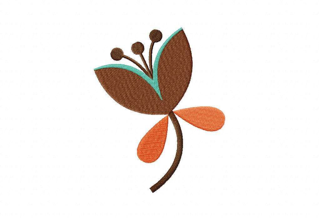 Dandy Flower Machine Embroidery Design Blasto Stitch