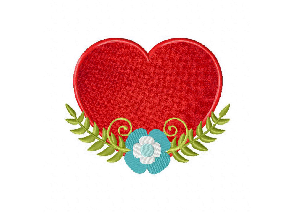 Amazon inch embroidery disco dot heart applique patch