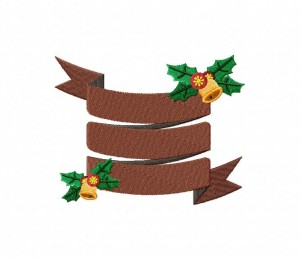 christmas-banner-brown-stitched-5_5-inch