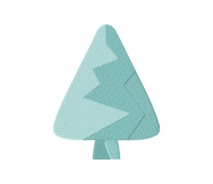 Icy Tree Cone Stitched 5_5 Inch
