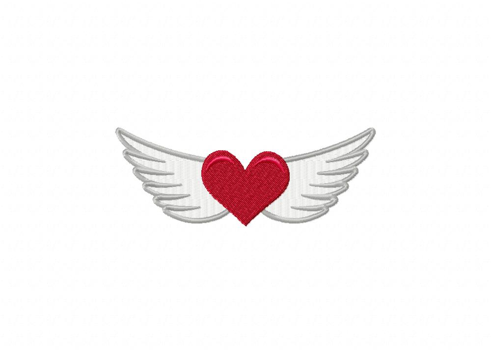 Paw print heart embroidery design annthegran