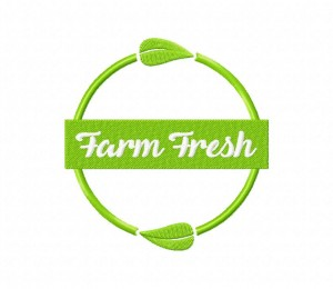 Farm Fresh Natural Product Label 5_5 inch