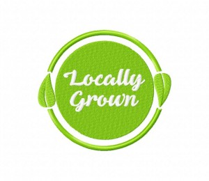 Locally Grown Natural Product Label 5_5 inch