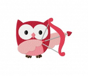 Valentine Owl Arrow 5_5 inch
