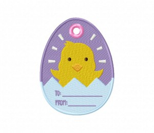 Easter Gift Tag 3 5_5 inch