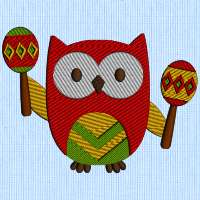 Mexican Owl 9 5_5 inch