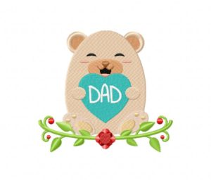 Dads Day Bear 5_5 inch
