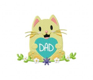 Dads Day Kitty 5_5 inch