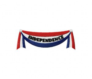 Independence Bannner 5_5 inch
