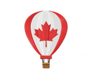 Canada Balloon Stitched 5_5 Inch