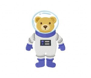 Space Bear Stitched 5_5 Inch