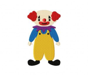 Scary Halloween Clown 5_5 inch