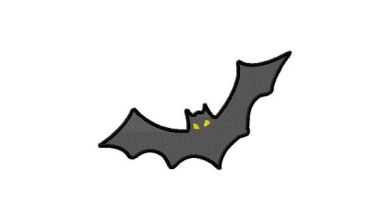 Embroidery Designs Vampire Bat